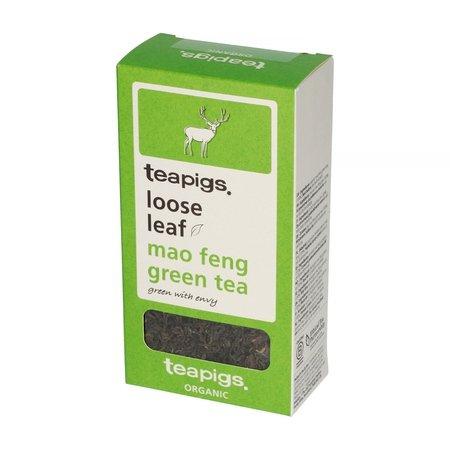 teapigs Mao Feng Green Organic - herbata sypana 75g