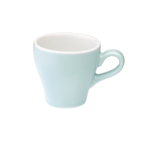 Loveramics Tulip - Filiżanka i spodek Cappuccino 180 ml - River Blue