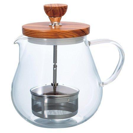 Hario Teaor - Dzbanek do herbaty - Olive Wood - 700ml