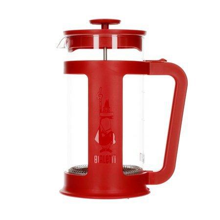 Bialetti French Press Smart 1l Czerwony