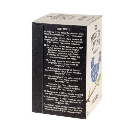 Higher Living Earl Grey - herbata - 20 saszetek