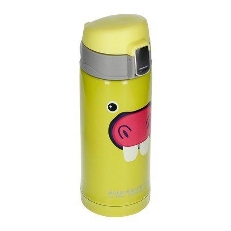 Asobu - Peek-a-Boo Jasnozielony - Butelka termiczna 200 ml