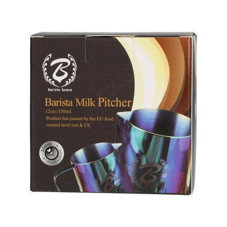 Barista Space - Dzbanek do mleka Splash 350 ml