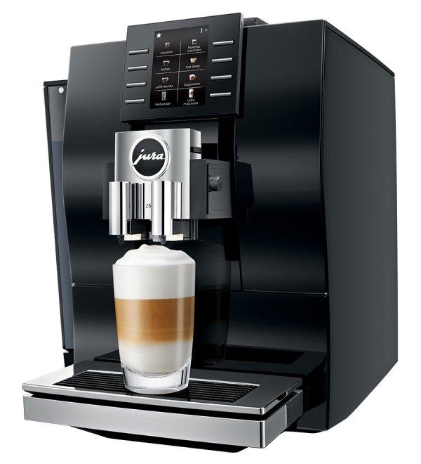ekspres do kawy, ekspres automatyczny, ekspres do biura, jura, jura z6 diamond black, Z6