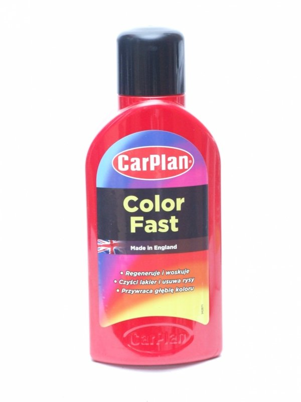 CARPLAN T-CUT COLOR FAST CZERWONY 500ML