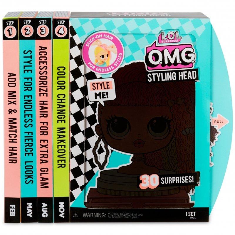 L.O.L. Surprise OMG Głowa do Stylizacji