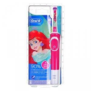 Szczoteczka do zębów Braun Vitality 100 kids Princess (elektryczna; kolor różowy)