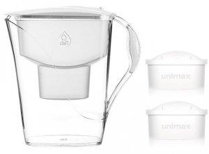 Dzbanek filtrujący DAFI Luna MI +2 Unimax (biały)
