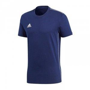 Koszulka męska adidas Core 18 Tee granatowa CV3981