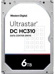 Dysk serwerowy HDD Western Digital Ultrastar DC HC310 (7K6) HUS726T6TALN6L4 (6 TB; 3.5; SATA III)