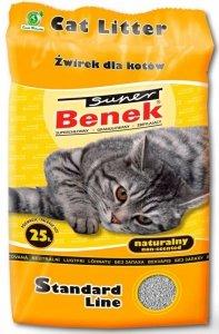 Super Benek Standard Naturalny 25L Active (żółty)