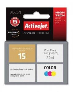 Tusz Activejet AL-15N (zamiennik Lexmark 15 18C2110E; Supreme; 24 ml; kolor)