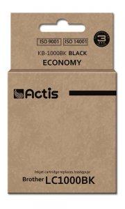Tusz ACTIS KB-1000BK (zamiennik Brother LC1000BK/LC970BK; Standard; 36 ml; czarny)