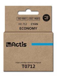Tusz ACTIS KE-712 (zamiennik Epson T0712, T0892, T1002; Standard; 13.5 ml; niebieski)