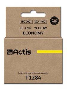 Tusz ACTIS KE-1284 (zamiennik Epson T1284; Standard; 13 ml; żółty)