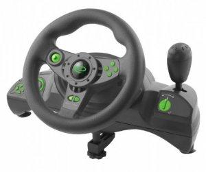Kierownica Esperanza Nitro EGW102 (PC, PS3; kolor czarny)