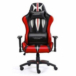 Fotel gamingowy WARRIOR CHAIRS Sword 5903293761090 (kolor czerwony)
