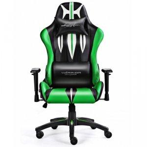 Fotel gamingowy WARRIOR CHAIRS Sword 5903293761113 (kolor zielony)