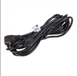 Kabel Akyga AK-PC-05A (Hybrydowa standardu C/E/F (CEE 7/7) M - C13 M; 5m; kolor czarny)