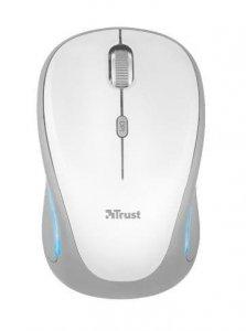 Mysz Trust Yvi FX 22335 (optyczna; 1600 DPI; kolor biały)