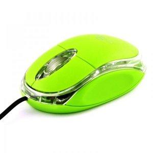 Mysz TITANUM Raptor 3D TM102G (optyczna; 1000 DPI; kolor zielony)
