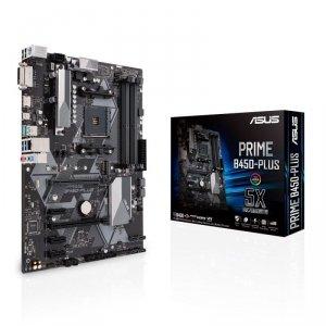 Płyta główna ASUS PRIME PRIME B450-PLUS (AM4; 4x DDR4 DIMM; ATX; CrossFireX)