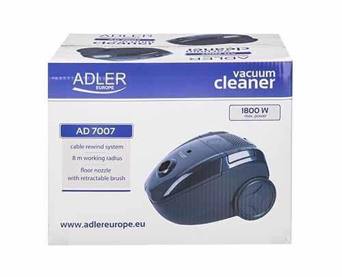 Odkurzacz workowy Adler AD 7007 (700W; kolor granatowy)