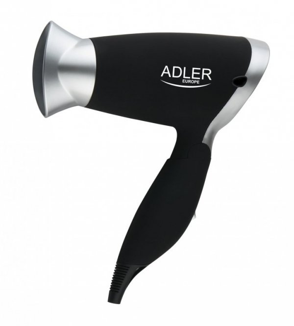 Adler AD 2219 Suszarka do włosów Czarny, Srebrny 1250 W