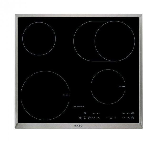 Płyta indukcyjno-ceramiczna AEG HK634150XB (4 pola grzejne; kolor czarny)