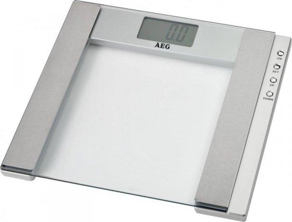 AEG PW 4923 Elektroniczna waga osobista Stal nierdzewna, Przezroczysty