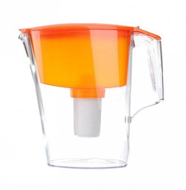 Dzbanek AQUAPHOR Standard + wkład B100-15 (2,5 litra; kolor pomarańczowy)