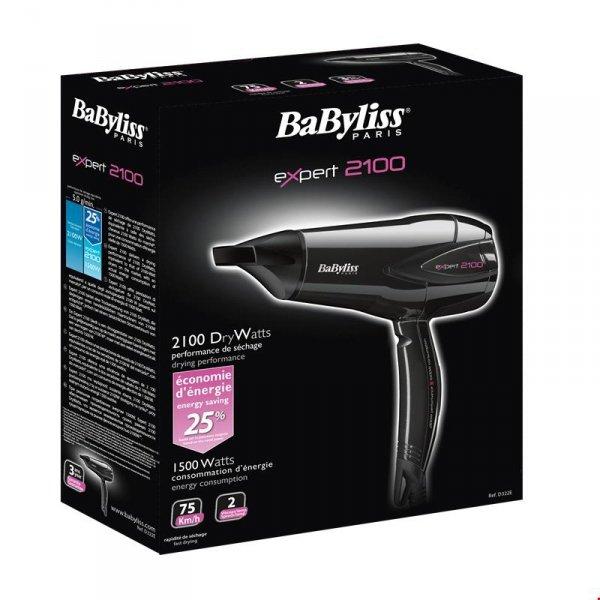 Suszarka do włosów Babyliss D322E (1500W; kolor czarny)