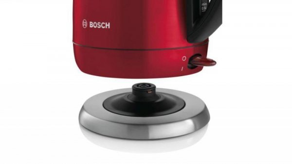 Bosch TWK78A04 czajnik elektryczny 1,7 L Czarny, Czerwony 2200 W