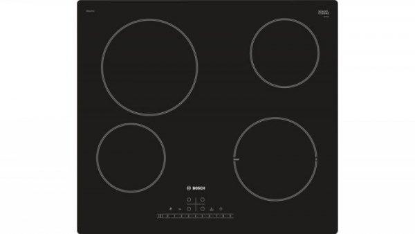 Bosch Serie 6 PKE611FP1E płyta kuchenna Czarny Wbudowany Ceramiczna 4 zone(s)