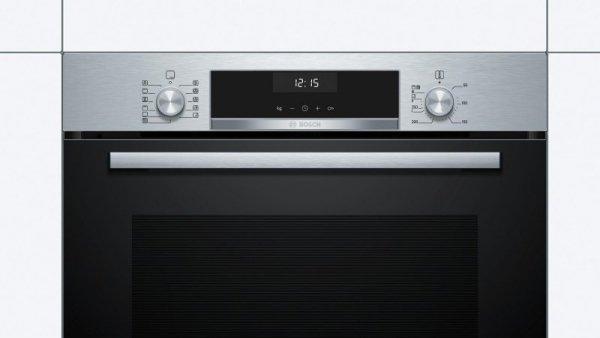 Piekarnik elektryczny BOSCH HBA5570S0 (Mechaniczne; Czarny)