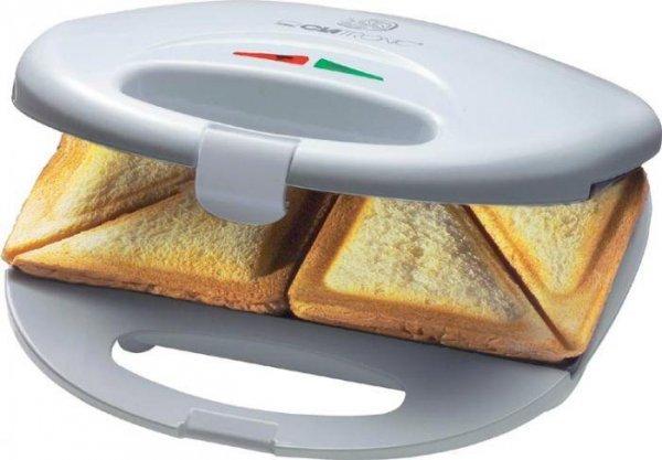 Opiekacz do kanapek Clatronic ST 3477 (750W; kolor biały)