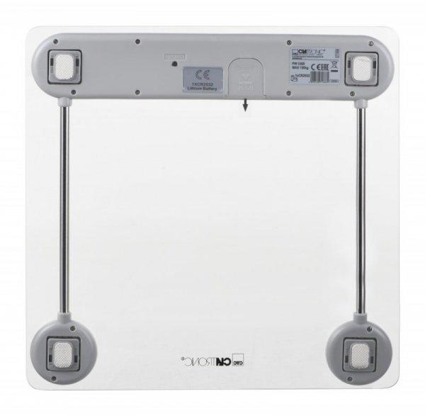 Clatronic PW 3368 Elektroniczna waga osobista Biały