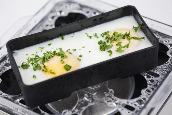 Caso E9 jajowar 8 jajko(a) 400 W Stal nierdzewna, Przezroczysty