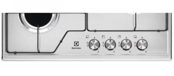 Płyta gazowa Electrolux CGS6424BX (4 pola grzejne; kolor srebrny)