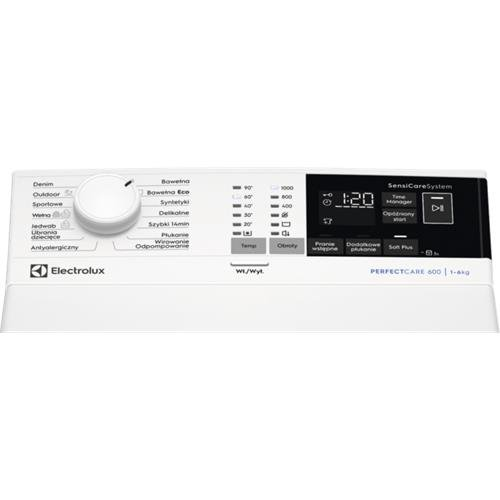 Pralka Electrolux EW 6T4062P (1000 obr/min; 6 kg; 600 mm; Klasa A+++; kolor biały)