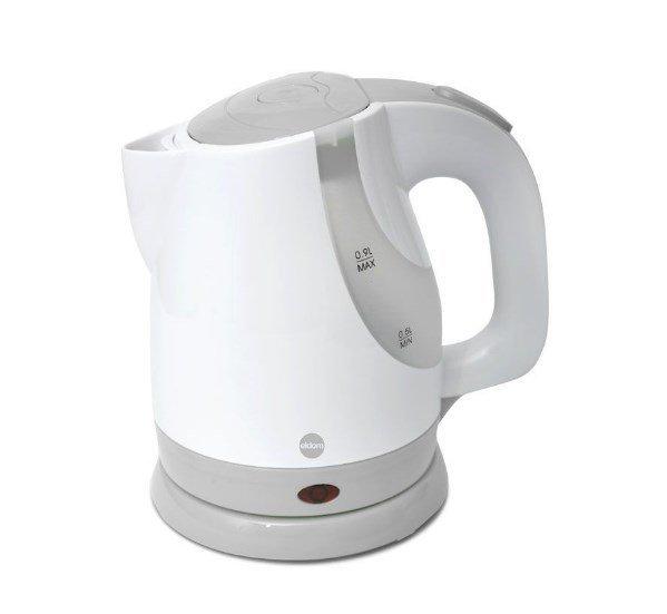 Czajnik elektryczny ELDOM C175G (1200W 0,9l; kolor biało-szary)
