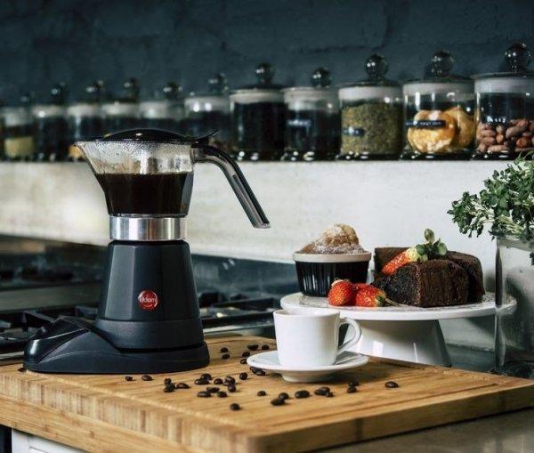 Kawiarka elektryczna ELDOM Aromatica KA40 (480W; kolor czarny)