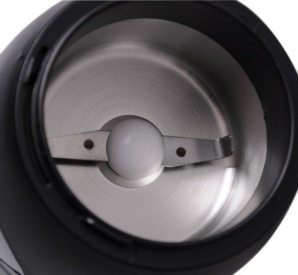 Młynek elektryczny do kawy ELDOM MK100S (150W; nożowy; kolor srebrny)