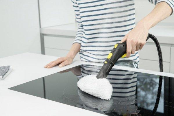 Kärcher SC 2 EasyFix Cylindryczna myjka parowa 1 l 1500 W Czarny, Żółty