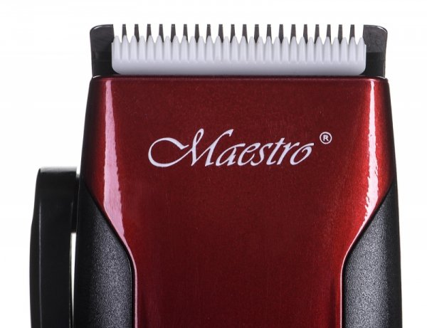 Maszynka do strzyżenia MAESTRO MR-656C czarno-czerwona