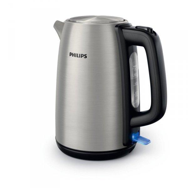 Czajnik elektryczny Philips HD9351/91 (2200W 1.7l; kolor srebrny)