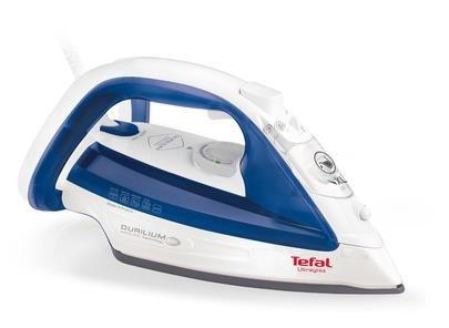 Tefal UltraGliss FV4913E0 Żelazko suche i parowe Stopa Durilium Niebieski, Biały 2500 W
