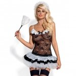 Kostium pokojówka - Obsessive Housemaid Costume L/XL