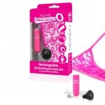 Wibrujące majteczki - The Screaming O Charged Remote Control Panty Vibe Pink