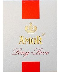 Prezerwatywy-Amor LONG LOVE PLAIN 3pcs